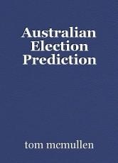 Australian Election Prediction