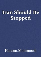 Iran Should Be Stopped