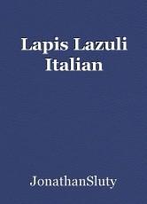 Lapis Lazuli Italian