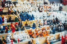 Star Wars VII through IX compared to colleges