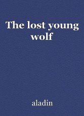 The lost young wolf