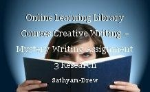 Online Learning Library Courses Creative Writing – Mystery Writing Assignment 3 Research
