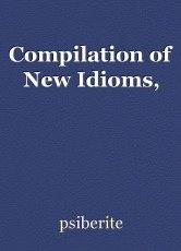 Compilation of New Idioms,