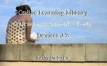 Online Learning Library Courses Assignment 6 Poetic Devices J-Z