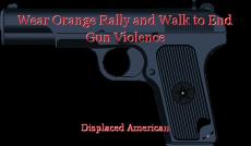 Wear Orange Rally and Walk to End Gun Violence