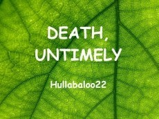 Death, Untimely
