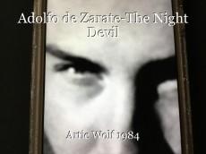 Adolfo de Zarate-The Night Devil