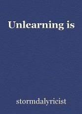 Unlearning is
