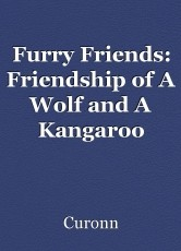 Furry Friends: Friendship of A Wolf and A Kangaroo
