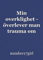 Min overklighet - överlever man trauma om man inte vet om man lever?