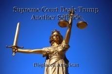 Supreme Court Deals Trump Another Setback