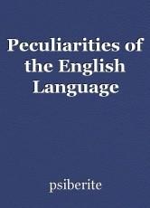 Peculiarities of the English Language