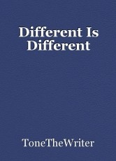 Different Is Different