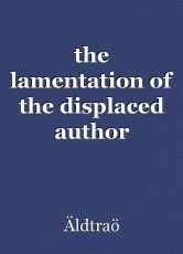 the lamentation of the displaced author