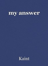 my answer