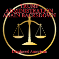 TRUMP ADMINISTRATION AGAIN BACKSDOWN