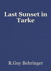 Last Sunset in Tarke