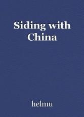Siding with China