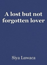 A lost but not forgotten lover