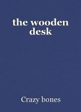 the wooden desk