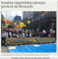 "Brussels-""Free Iran"" March"