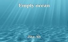 Empty ocean