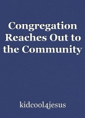 Congregation Reaches Out to the Community