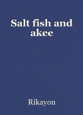 Salt fish and akee
