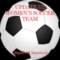 UPDATE US WOMEN'S SOCCER TEAM