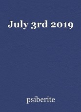July 3rd 2019