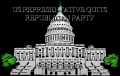 US REPRESENTATIVE QUITS REPUBLICAN PARTY