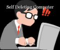 Self Deleting Computer
