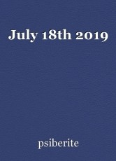 July 18th 2019