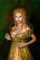The lady with golden hair...