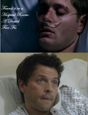 Found it in a hopital room: A Destiel FanFic