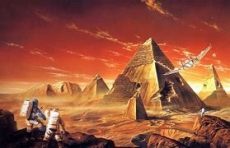 The Martian Shards of a Time Traveller
