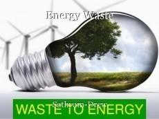 Energy Waste