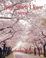 how much I love you!