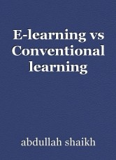 E-learning vs Conventional learning