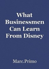 What Businessmen Can Learn From Disney
