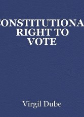 CONSTITUTIONAL RIGHT TO VOTE
