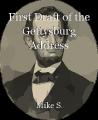 First Draft of the Gettysburg Address