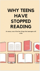 Why Teens Have Stopped Reading