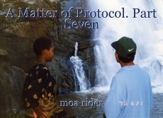 A Matter of Protocol. Part Seven