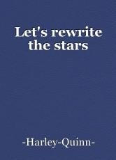 Let's rewrite the stars