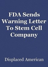FDA Sends Warning Letter To Stem Cell Company