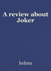 A review about Joker