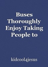 Buses Thoroughly Enjoy Taking People to Church