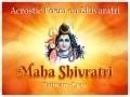 Acrostic Poem on Shivaratri
