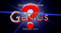 Question of Genius